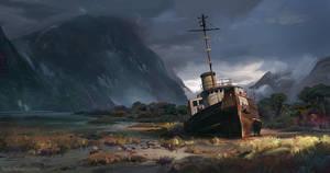 Shipwreck by MrFloki