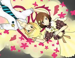 Jiro and Hana by StardustSavior
