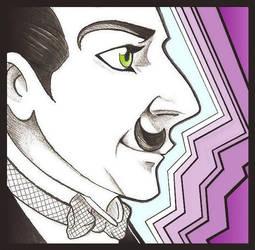 Poirot profile by CeskaSoda
