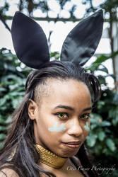 Battle Bunny Illaoi close up by Kamikazemiko