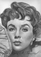 Elizabeth Taylor 2 by Karentownsend