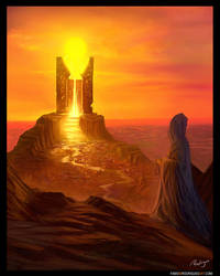 Temple of the Sun by rodriguesart