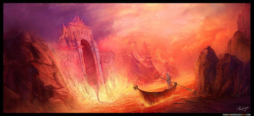 Ticket to Hell by rodriguesart