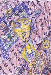 -Saccstry inspired fan art. by Warikoze