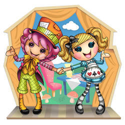 Wacky Hatter and Alice by thweatted