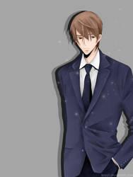 A Man With Full Love : Reiichirou Shudou by KeyZii