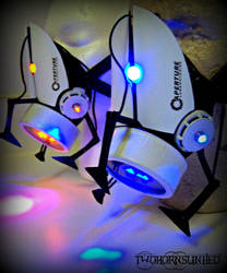 Aperture Science portal gun gas mask v3 by TwoHornsUnited