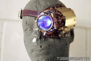 The Steampunk LED ocular apparatus by TwoHornsUnited
