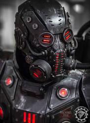 The Panzersoeldner - light up dieselpunk armor by TwoHornsUnited