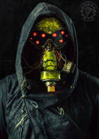 Dissolution - Cyberpunk LED mask by TwoHornsUnited
