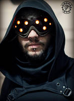 Hivemind cyberpunk led goggles by TwoHornsUnited