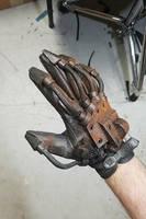 Post-apocalyptic power glove by TwoHornsUnited