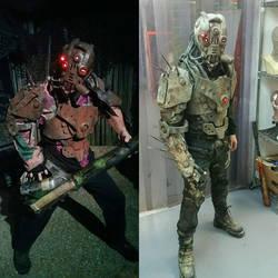 Demolisher - Wasteland armor by TwoHornsUnited