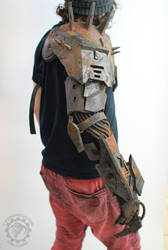 Wasteland Reaper cyborg arm by TwoHornsUnited