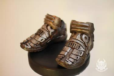 Tech trekker robot boots by TwoHornsUnited
