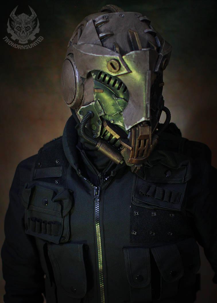 The Interceptor helmet by TwoHornsUnited