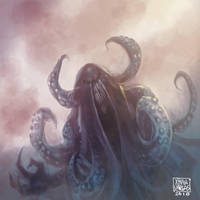Cthulhu by xtianvargas