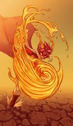 Fire Dragon's Rage by SrngDrgn