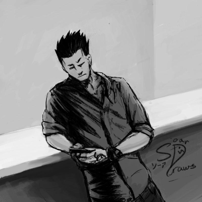 Greed Sketch by SrngDrgn