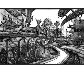 The Last Train to Rat town by DK19