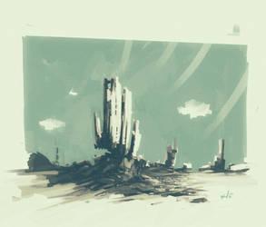 Speed Grain Landscape by DK19