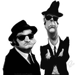 The Blues Brothers by Fuggedaboudit