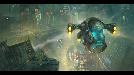 City 1 by bejzar