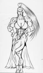 Genie is a genie Rune soldier by EDU0076