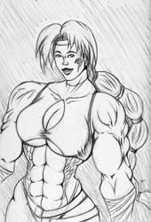 Genie pose 2 Rune soldier by EDU0076