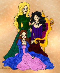 The 3 Sisters by sitauset