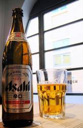 Asahi Beer by FranLovesJapan