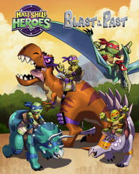 Half Shell Heroes Blast to the Past promo art by dyemooch