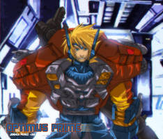 Optimus Prime Human Form by dyemooch