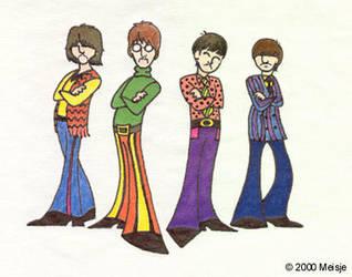 Beatley Caricatures by swankyfunk