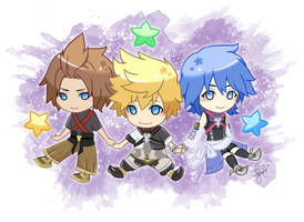 Kingdom Hearts: Birth By Sleep by Mochappuccino