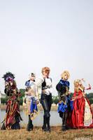 versailles p. q. cosplay by Joshou