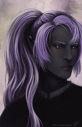 Drow Commission Ryuthiiri by Wolfypaints