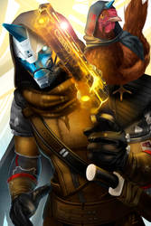 Cayde 6 by Nazuroth