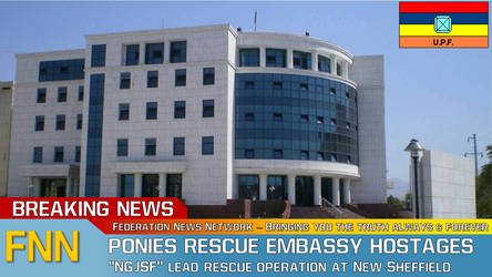 Ponies Rescue Embassy Hostages by bobby165324