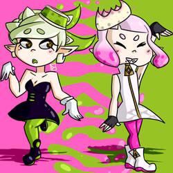 pearl and marie(na) by MysticLu