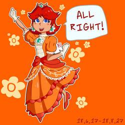 daisy! in! smash!!!!! by MysticLu