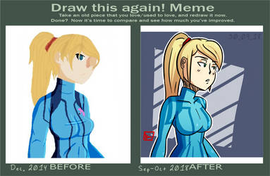 draw this again: samus aran by MysticLu