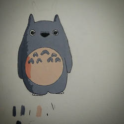 14-09-2015 Totoro Painting by SoundMatch