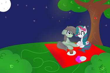 Love Under The Stars~ (Commission) by Lynchristina
