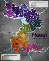 Map of Nariah by GingerBlues