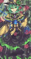 The Third Closed Eye Lady Koishi Komeiji by DaisukiFlandre