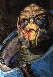 Mass Effect Oils -Garrus- by SeanDonaldson