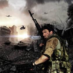 War Zone by MarquisAmon