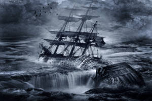 Tragedy At Sea by MarquisAmon