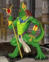 Pakesh Lizard by anthrosaur